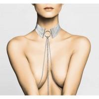 Метална яка със сребърна верижка – Désir Métalique Collar