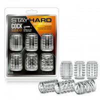 Комплект пенис ръкави за допълнително удоволствие – Stay Hard