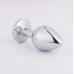 Метален анален разширител-бижу с кристал