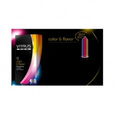 Vitalis Color & Flavor презерватив х 12броя