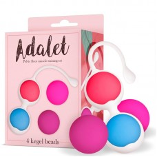 Комплект от 4 Вагинални топчета ADALET